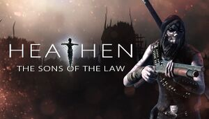 Heathen - The sons of the law cover