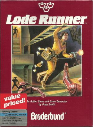 Lode Runner cover