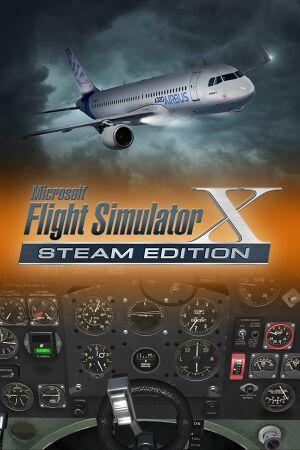 Microsoft Flight Simulator X cover