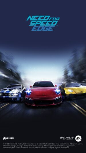 Need for Speed: Edge cover
