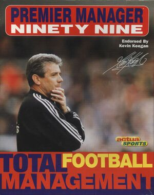 Premier Manager Ninety Nine cover