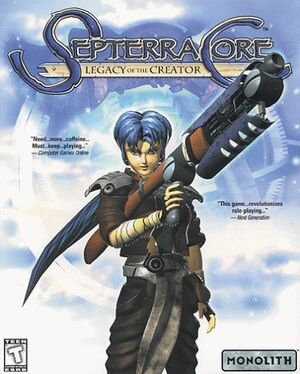 Septerra Core: Legacy of the Creator cover