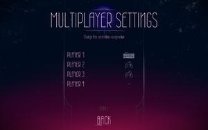 Multiplayer settings.