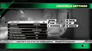 Controls.