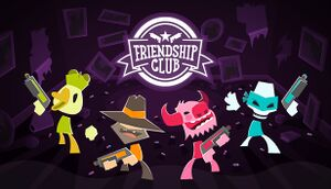 Friendship Club cover