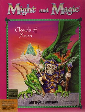 Might and Magic: Clouds of Xeen cover