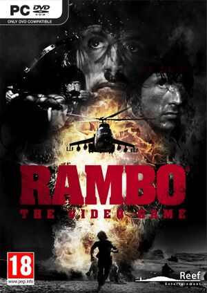 Rambo: The Video Game cover