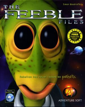 The Feeble Files cover