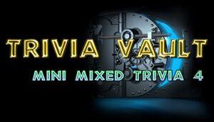 Trivia Vault: Mini Mixed Trivia 4 cover