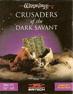 Wizardry: Crusaders of the Dark Savant cover
