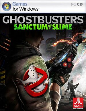 Ghostbusters: Sanctum of Slime cover