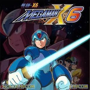Mega Man X6 cover