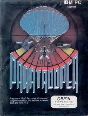Paratrooper cover