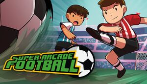 Super Arcade Football cover