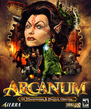 Arcanum:Of Steamworks & Magick Obscura cover