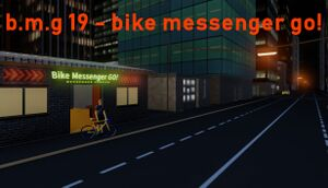 B.m.g 19 - bike messenger go! cover