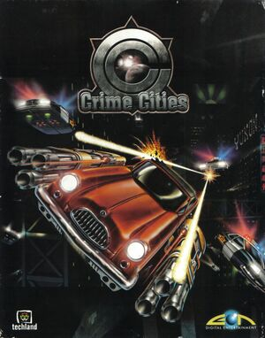 Crime Cities cover