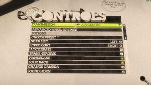 Controls (X-Box controller) 1/2