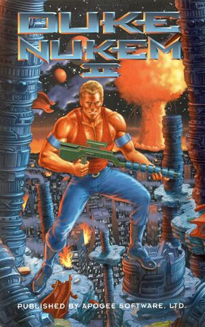 Duke Nukem II cover