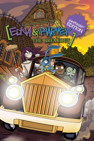 Edna & Harvey: The Breakout - Anniversary Edition cover