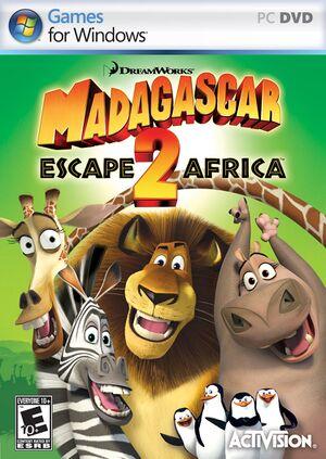Madagascar: Escape 2 Africa cover