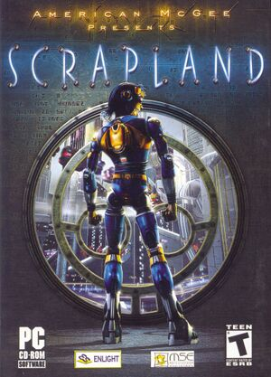 American McGee Presents: Scrapland cover