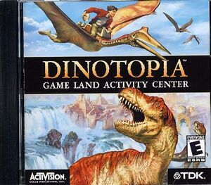 Dinotopia: Game Land Activity Center cover