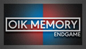 Oik Memory: Endgame cover