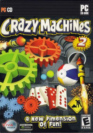 Crazy Machines 2 cover