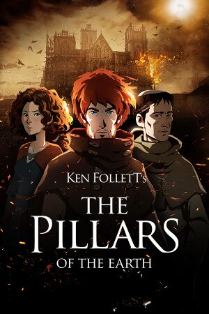 Ken Follett's The Pillars of the Earth cover