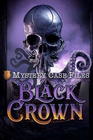 Mystery Case Files: Black Crown cover