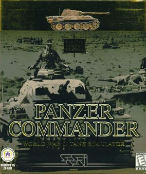 Panzer Commander cover
