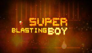 Super Blasting Boy cover