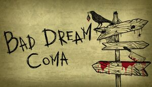 Bad Dream: Coma cover