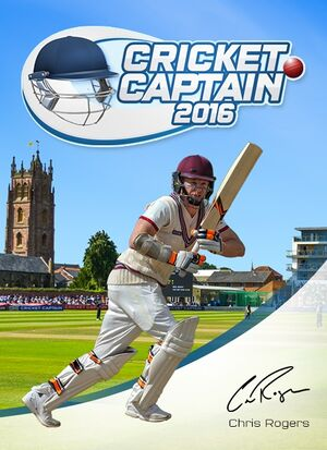 Cricket Captain 2016 cover