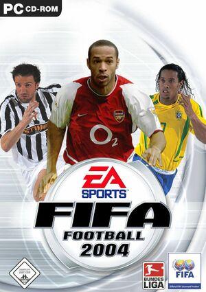 FIFA Football 2004 cover