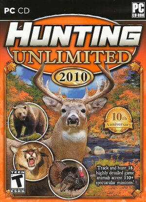 Hunting Unlimited 2010 cover