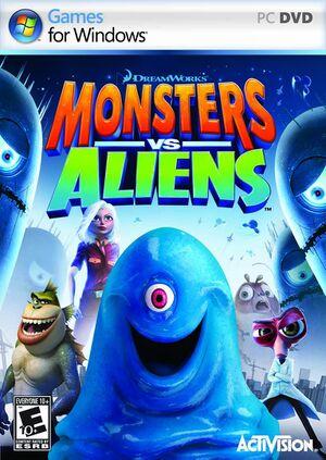Monsters vs. Aliens cover