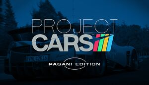 Project CARS - Pagani Edition cover