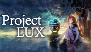 Project LUX cover