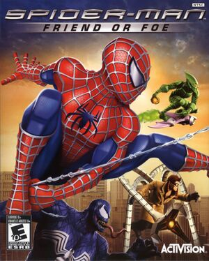 Spider-Man: Friend or Foe cover