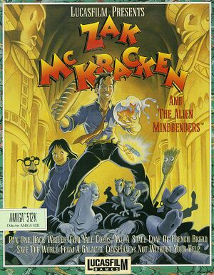 Zak McKracken and the Alien Mindbenders cover