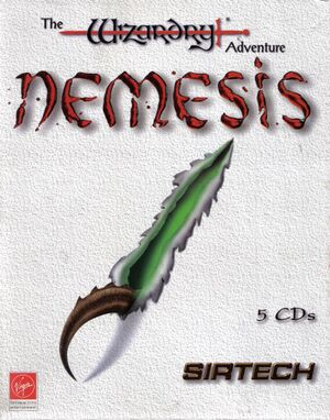 Nemesis: The Wizardry Adventure cover