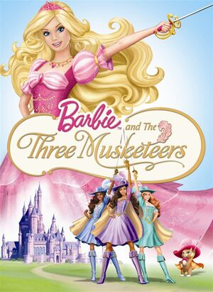 Barbie and the Three Musketeers cover