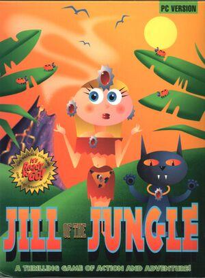Jill of the Jungle cover