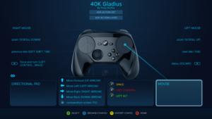 Official Steam Input preset (Steam Controller)