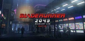 Blade Runner 2049: Memory Lab cover