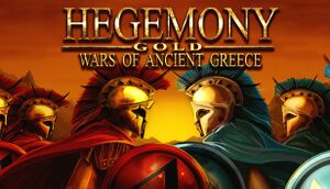 Hegemony Gold: Wars of Ancient Greece cover