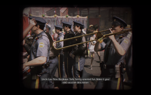 In-game screenshot to illustrate the subtitles.