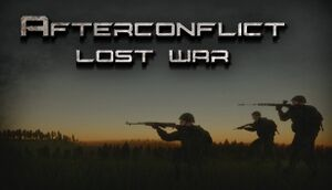 Afterconflict Lost War cover